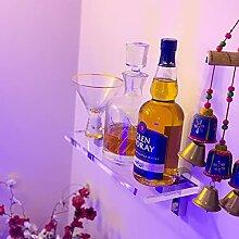 Likörflaschen-Ausstellungsregal, Barregal für