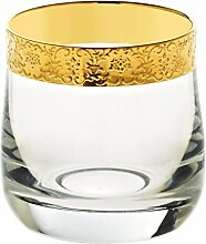 Likörglas Schnapsglas Likörkelch Gold Age 60 ml