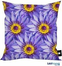 Lila Lotus Flower Design, hergestellt in Yorkshire tolle Geschenkidee