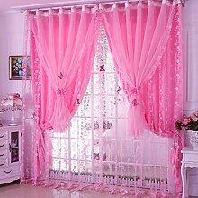 Lila - Pink - gardinen koreanische prinzessin Wind