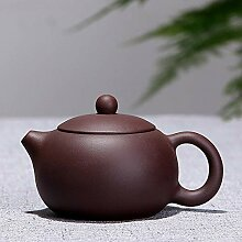 Lila Ton Teekanne Chinesische Handgemachte Zisha