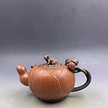Lila Ton Teekanne