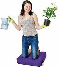 Lila Wasserfest Außenbereich Gadren Schreibtisch DIY Knieschützer Sitzsack weißer griff und taschen