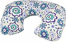 Lila, Weiß, Grün, Blume, Luftkissen Halsschutz
