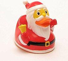 Lilalu Weihnachtsmann Gummiente - Geschenk -