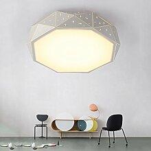 Lilamins Deckenleuchte rundes Bett für Kinder kreative Persönlichkeit Lampen Beleuchtung für Wohnzimmer?Büro, Badezimmer, Küche, Flur, Spülen Led Deckenleuchten, 500 mm