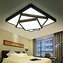 Lilamins Wohnzimmer Licht Rechteckige Moderne Minimalistische Atmosphre Home LED Deckenleuchte Lampe Beleuchtung Halle Deckenbeleuchtung Fr