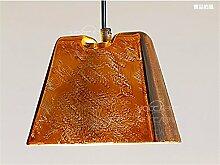 LilaminsThebox Die Nordischen kreative Persönlichkeit Sepia Restaurant & Bar Lampen Ornamente Clothing Store Fenster Dekoration industry wind ChandelierIron Kronleuchter cm * 14 cm