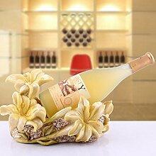 lili Blumen Harz Wein Flaschenhalter Wein Zubehör