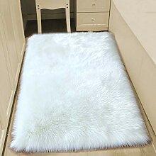 lili Faux Schaffell Teppich Flauschig Nachahmung