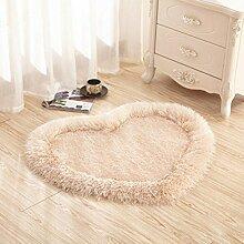 lili Fußmatte in Form von Einem Herz einfach