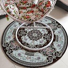 lili Teppich Europäischer Stil Schaukelstuhl mit