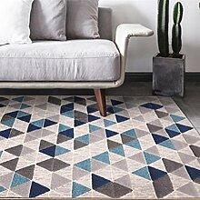 lili Teppich mit geometrischen Streifen, modern,