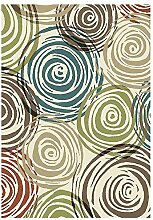 lili Teppich Teppich Impression Malerei Abstraktes