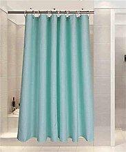LILI Wasserdichte Mehltau Duschvorhang Badewanne