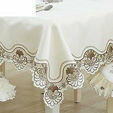LILILI Fabric Tischdecke Einfache Tischdecke