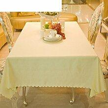 LILILI Kaffee Tischdecke Tischdecke Stoff Rechteck