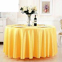 LILILI Runde Tischdecke für Hotels in der europäischen Familie Couchtisch Platz runde Tischdecke Tischdecke-B mit einem Durchmesser von 160 cm (63 Zoll)