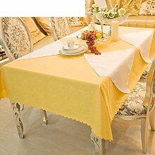 LILILI Tischdecke Runden Tisch Tuch für Hotels -