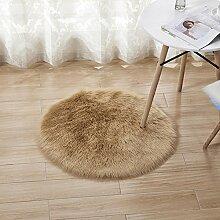 lililili Runde Dekor teppiche,Plüsch Matratze