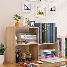 lililili Zeitungsständer Holz, Desktop-kleines