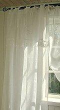 LillaBelle Offwhite Vorhang Mariella 120x240 cm