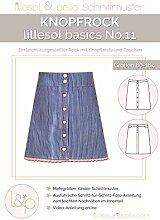 Lillesol & Pelle Schnittmuster basics No11