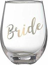 Lillian Rose G115 BR Gold Bride Weinglas, ohne