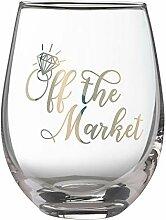Lillian Rose G117 OM Weinglas ohne Stiel, Höhe 12