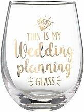 Lillian Rose G117 WP Weinglas ohne Stiel, Höhe 12
