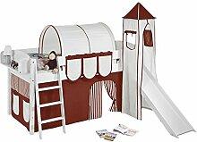Lilokids Spielbett IDA 4105 Braun Beige-Teilbares