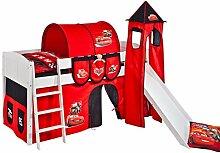 Lilokids Spielbett IDA 4106 Disney Cars-Teilbares