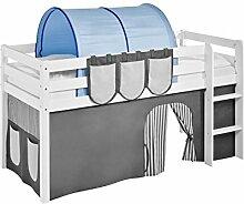 Lilokids Tunnel Blau - für Hochbett, Spielbett und Etagenbe