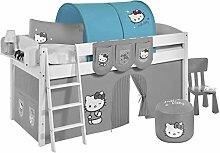 Lilokids Tunnel Hello Kitty Türkis - für Hochbett, Spielbett und Etagenbe