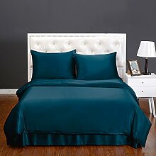 LilySilk Seide Bettbezug 135x200cm Bettbezüge mit