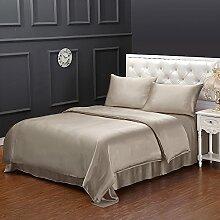 LilySilk Seide Bettbezug 155x220cm Bettbezüge mit