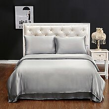 LilySilk Seide Bettbezug 200x220cm Bettbezüge mit