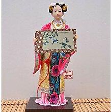 LIMEIA Chinesische Art Figur Skulptur, Jinling 12,