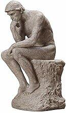 LIMEIA Denker Charakter Skulptur-Statue,Moderne