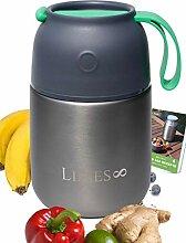 Limes 8 Thermobehälter für Essen 500ml Lunchbox