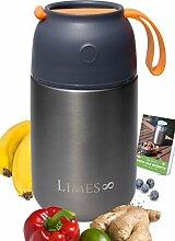 Limes 8 Thermobehälter für Essen 700ml Lunchbox