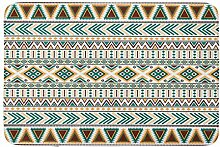 LiminiAOS Badematte African Tribal Vintage Ethno