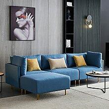 LIMITE Stoffsofa mit Kissen Komfortables Design