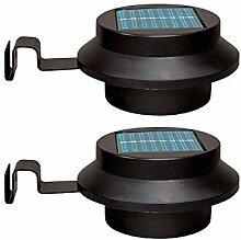 Lin-Yo Solarleuchten Garten Solarbeleuchtung Led