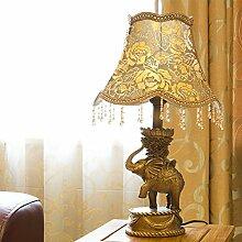 LINA-Elefant klassische Einrichtung, Lampen