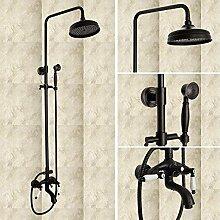 LINA@ Europäischen Kupfer Antik schwarz Dusche Armatur Brausese
