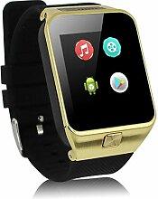 Linbing123 3G-Telefonfern-Uhr, Touch Waterproof