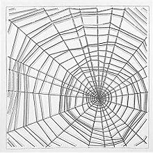 linda20y Spinnennetz Silikon klar Siegel Stempel