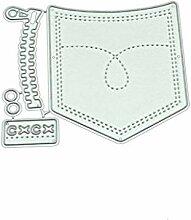 linda20y Tasche DIY Metall Stanzformen Schablone