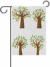 LINDATOP Garten-Flagge, Motiv: Mangobaum, 30,5 x